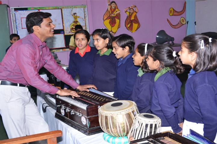 Army Public School - Music Room