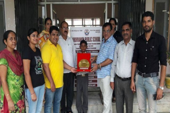Arorvansh Public School-1st Position in All India Skating Competition