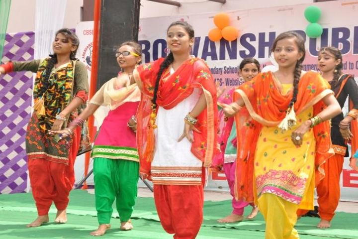 Arorvansh Public School-Cultural Dance