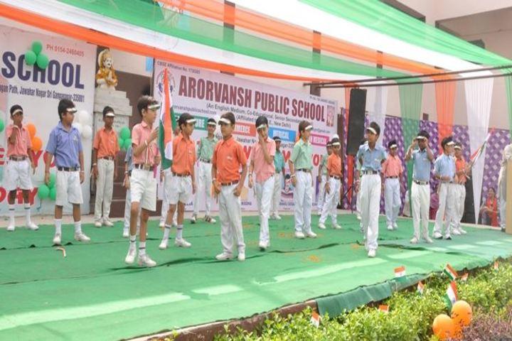 Arorvansh Public School-Independence Day Celebrations