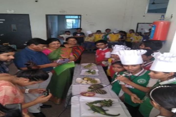 Avm Convent School-Vegetable Carving