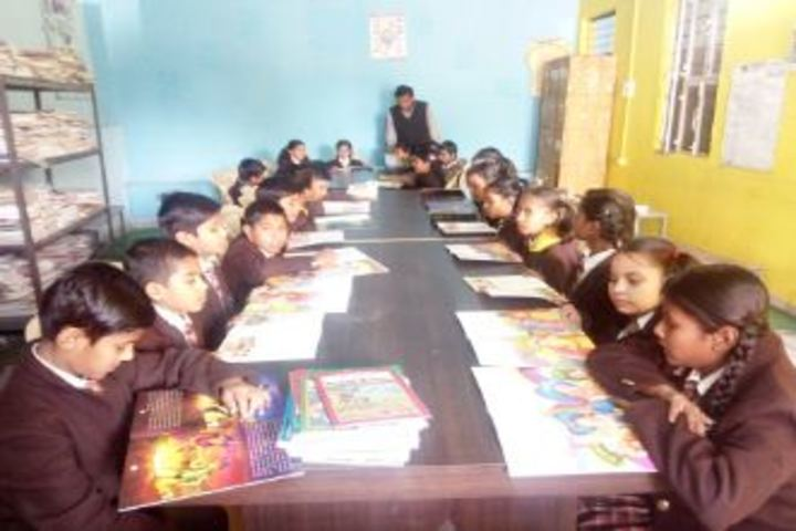 Avm Convent School-Library