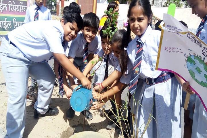 B R Birla Public School-Tree Plant