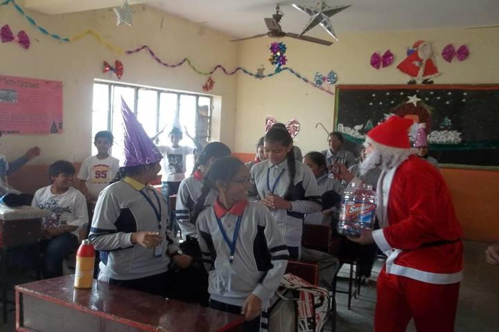 B R Birla Public Senior Secondary School Pali-Christmas Celebration