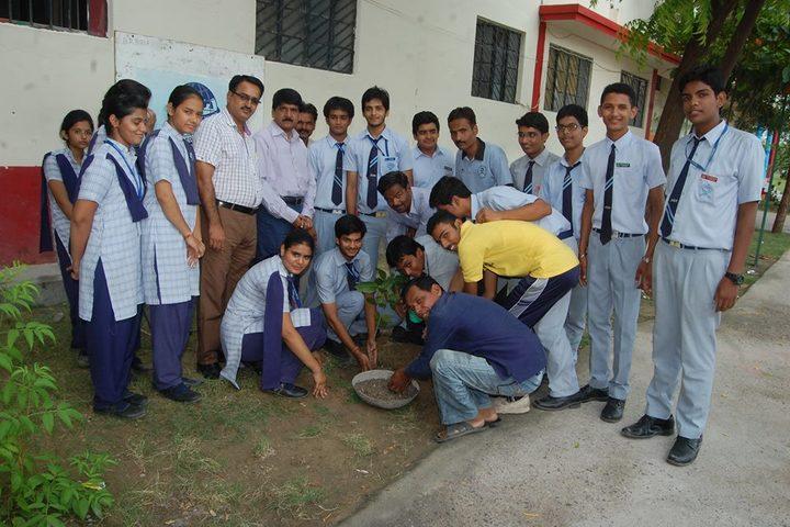 B R Birla Public Senior Secondary School Pali-Environment Day