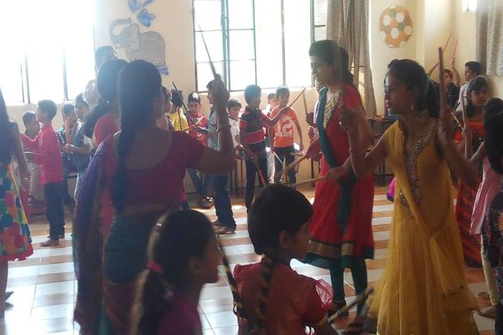 B R Birla Public Senior Secondary School Pali-Festival Celebration