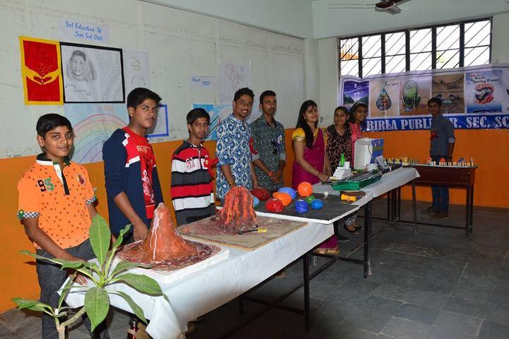 B R Birla Public Senior Secondary School Pali-Science Exhibition