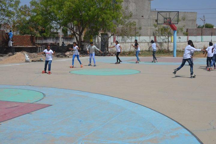 B R Birla Public Senior Secondary School Pali-Skating