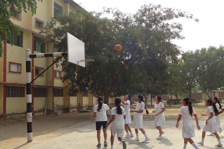 B R J D Public School-Basket Ball Ground
