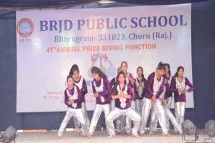 B R J D Public School-Dance
