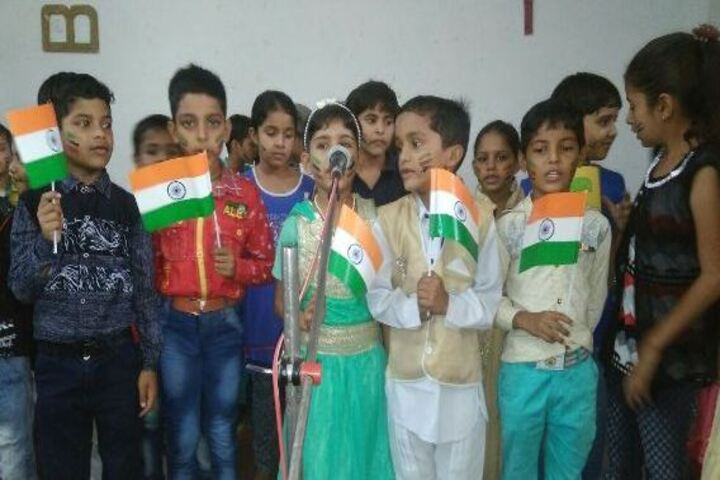 B R J D Public School-Independence Day Celebrations
