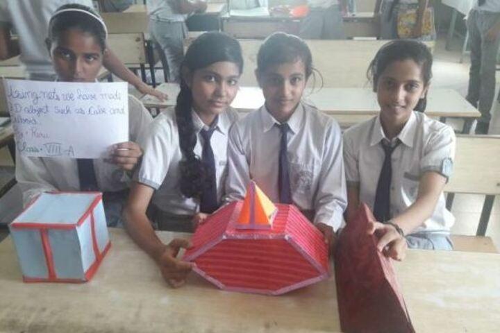 B R J D Public School-Maths Activity
