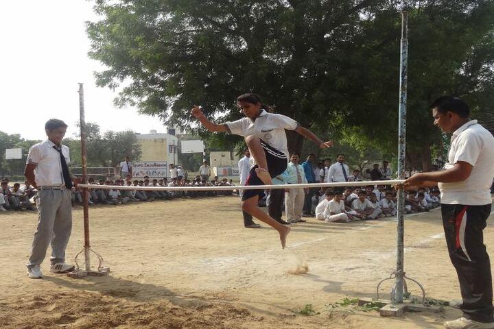 B R J D Public School-Outdoor Activity