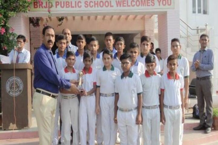 B R J D Public School-Prize Distribution