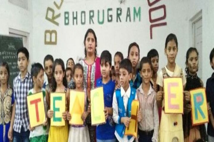 B R J D Public School-Teachers Day Celebrations