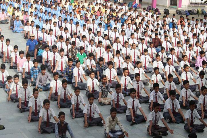 B.P.S. Convent School-Yoga Day Celebrations