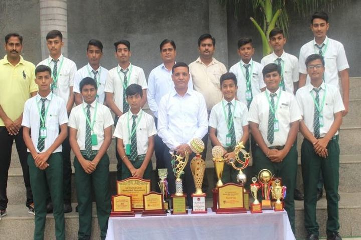 B.S. Memorial School-Volley Ball Champions