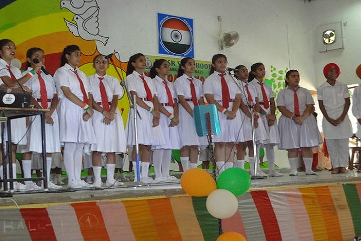 BSF Senior Secondary School-Events singing