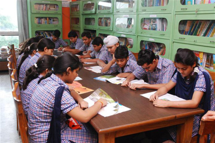 Bakhshis Springdales Senior Secondary School-Library
