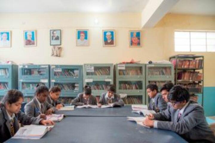 Bhabha Public School-Library