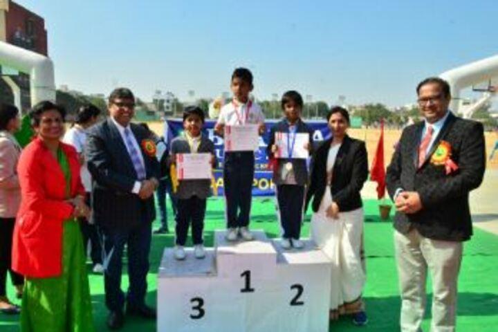 Bhabha Public School-Prize Distribution