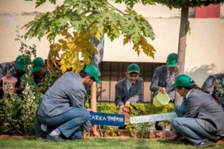 Bhabha Public School-Tree Plantation