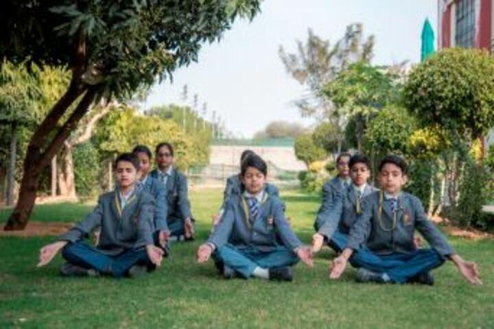 Bhabha Public School-Yoga