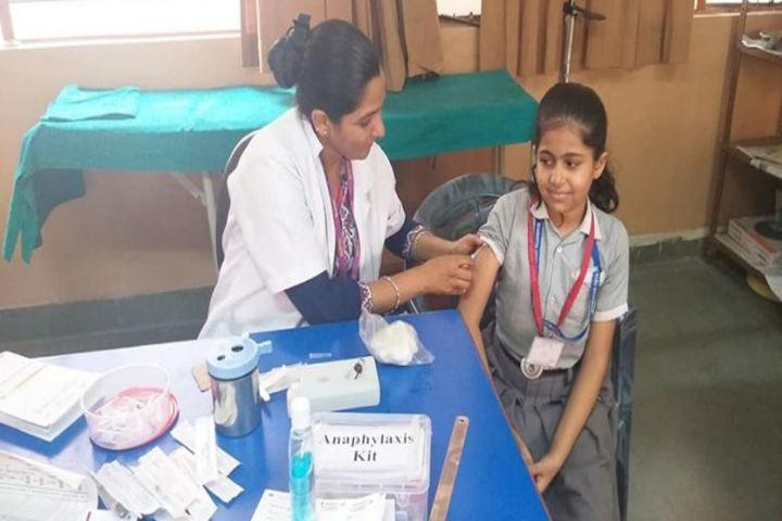 Bharatiya Vidya Bhavan Vidyashram-Medical Camp