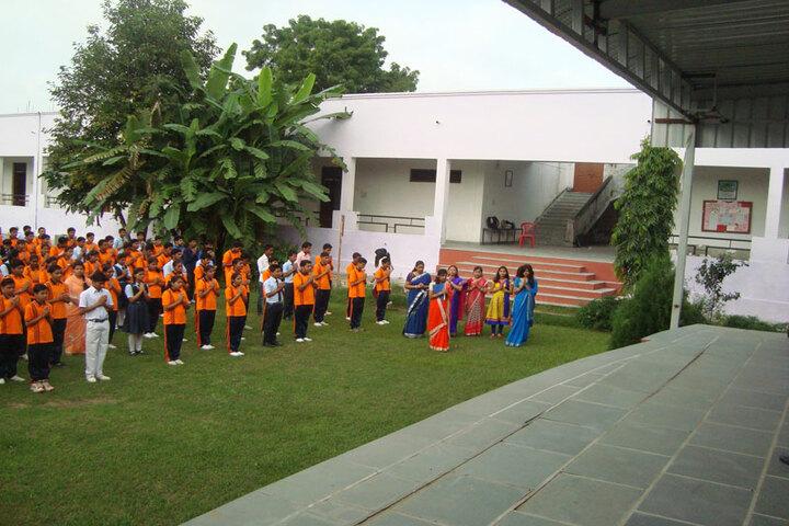 Bhopal NobleS Public School-Assembly