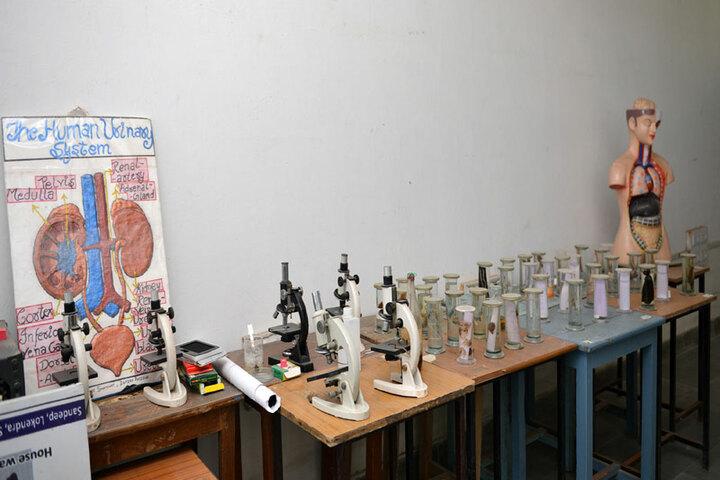 Bhopal NobleS Public School-Biology Lab