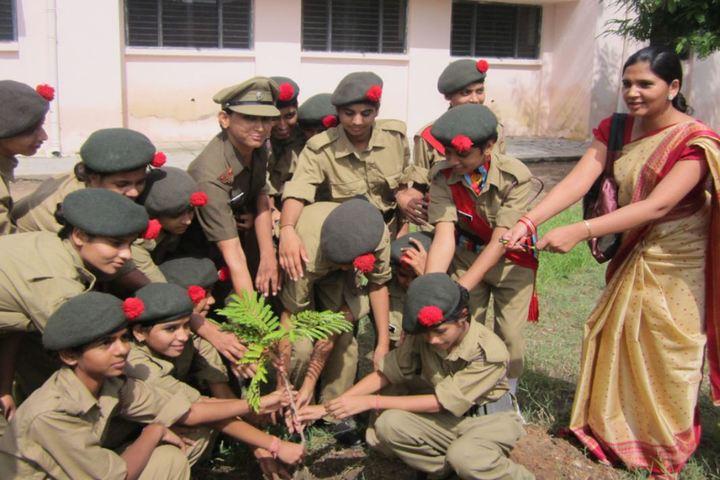 Bhuvnesh Bal Vidyalaya-Tree Planatation