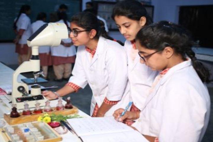 Bihani Childerns Academy-Biology Lab