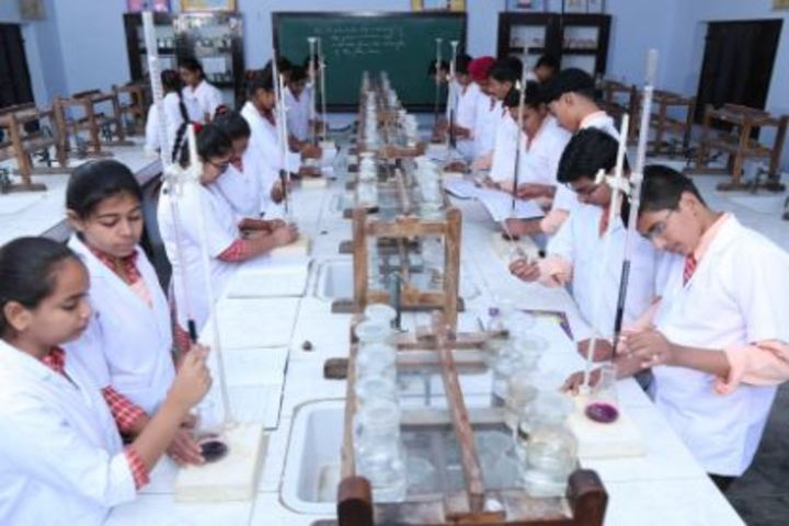 Bihani Childerns Academy-Chemistry Lab