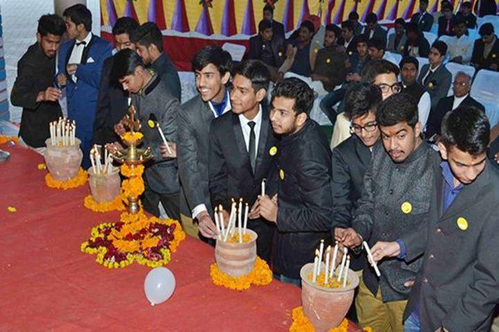 Bikaner Boys School-Candel lighting