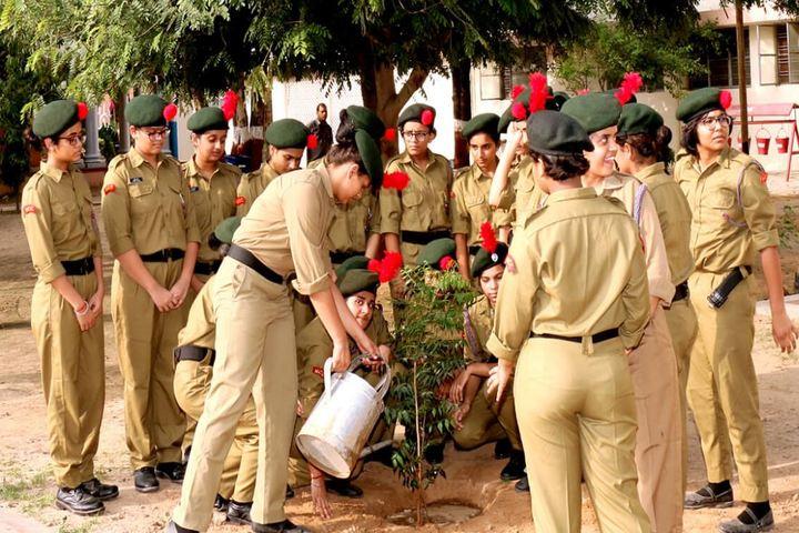 Birla Balika Vidyapeeth-Tree Plantation