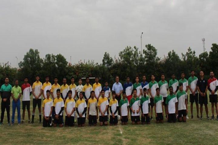 Birla International School Kishangarh-Football Tournment