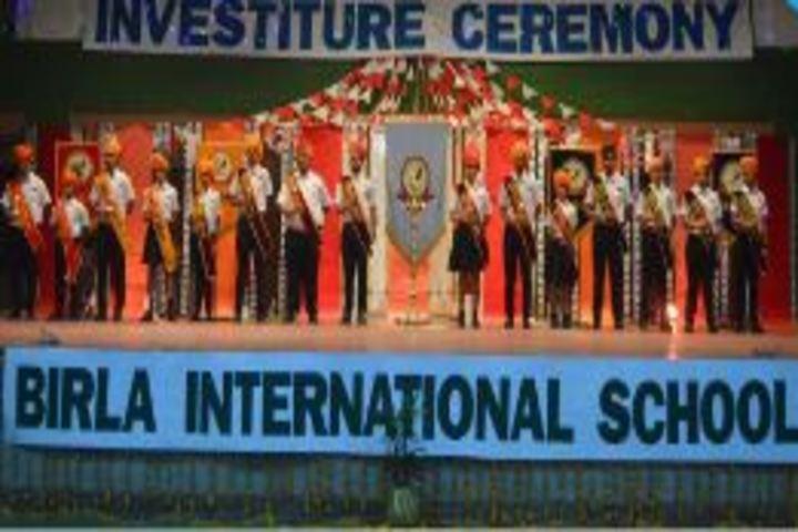 Birla International School Kishangarh-Investiture Ceremony