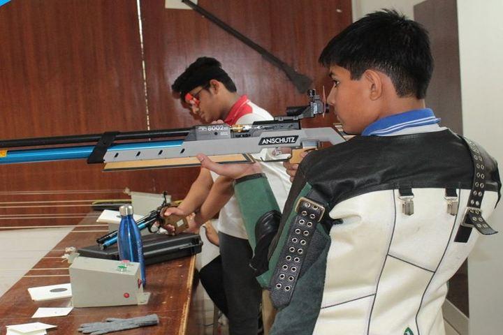 Birla International School Kishangarh-Riffle and Shhoting Competetion