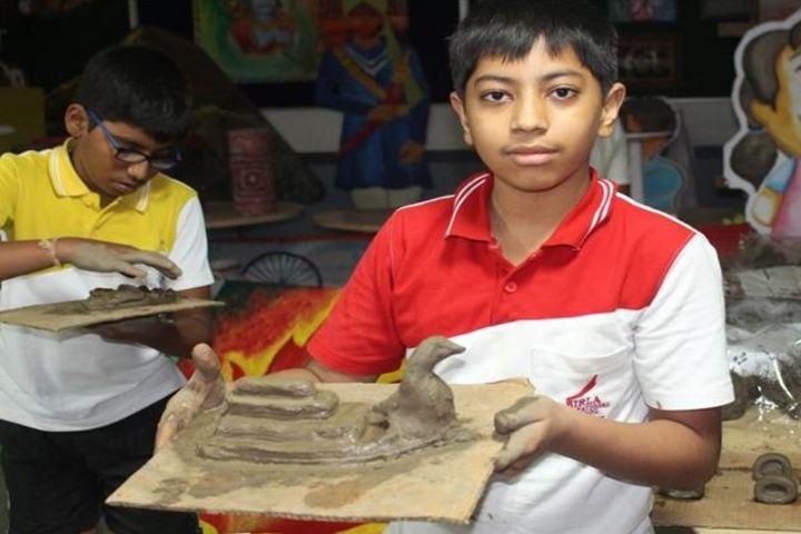 Birla International School Kishangarh-Sculpture Day