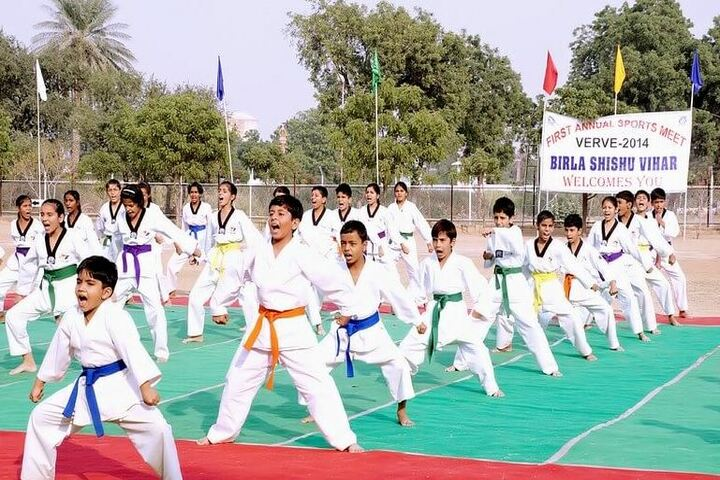 Birla Shishu Vihar Vidya Vihar-Judo-Karate
