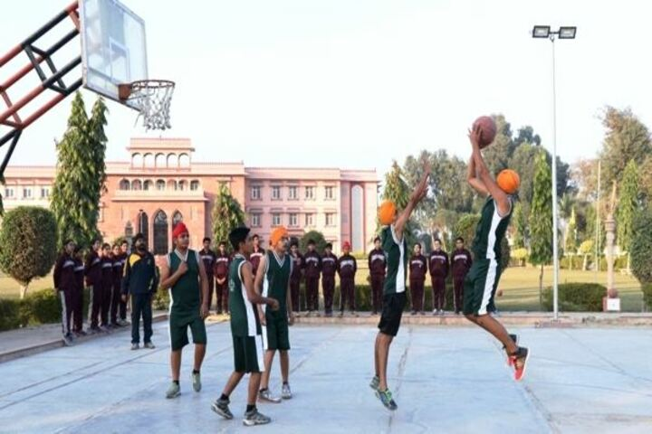 Blooming Dales International School-Basket ball Ground
