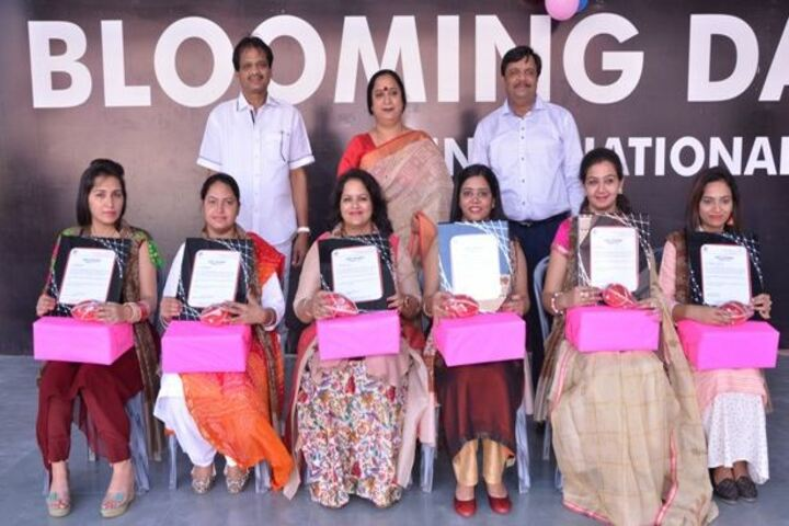 Blooming Dales International School-Teachers Day Celebrations