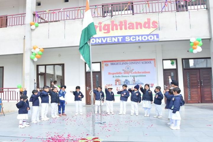 Brightlands Convent School-Republic Day Celebrations