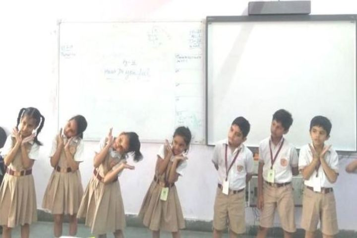 Calorx Public School-Expression Activity