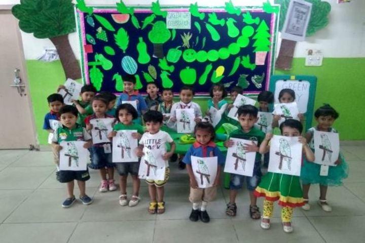 Calorx Public School-Green Day Celebrations
