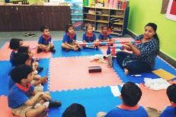 Calorx Public School-Maths Activity
