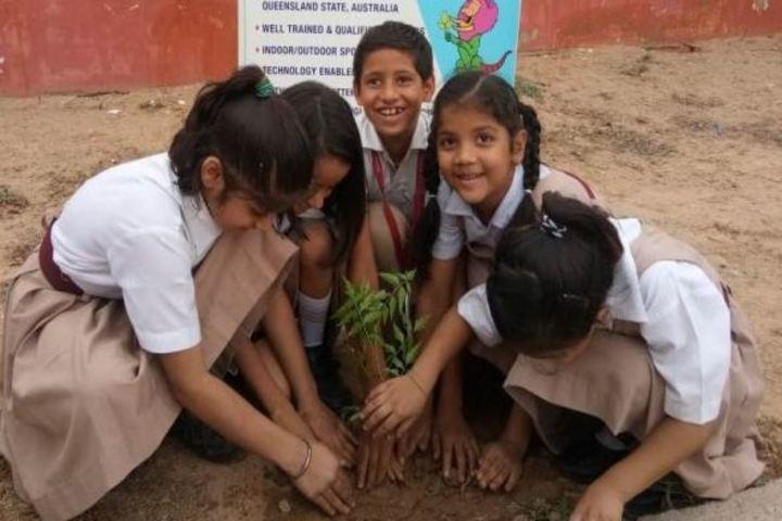 Calorx Public School-Tree Plantation