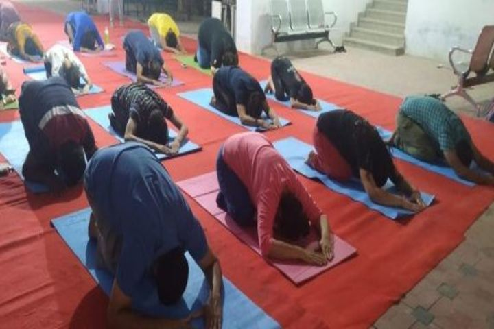Calorx Public School-Yoga Day