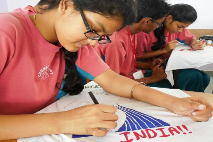 Cambridge Court High School-Poster making