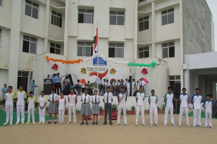 Career Point World School-Independence Day Celebrations